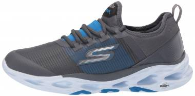 Skechers GOrun Vortex - Charcoal/Blue