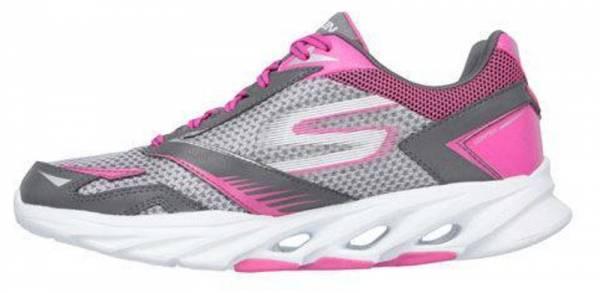 Skechers GOrun Vortex men charcoal/hot pink