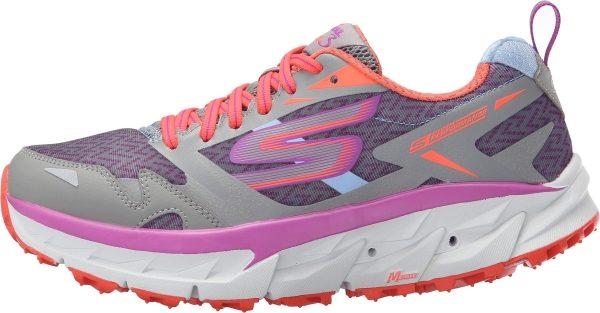 Skechers GOtrail Ultra 3 woman light gray/purple