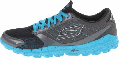 Skechers GOrun 3 - Charcoal/Turquoise/Light/Pastel Blue