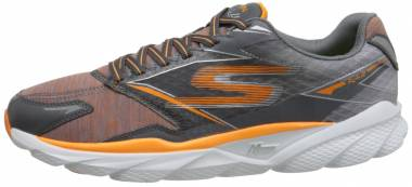 Skechers GOrun Ride 4 - Gray Orange