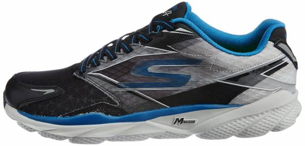 Skechers GOrun Ride 4 Schwarz (Black/Blue)
