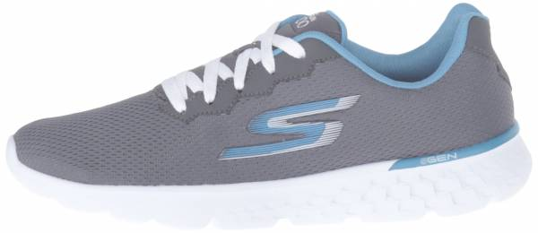 Skechers GOrun 400 woman charcoal/blue