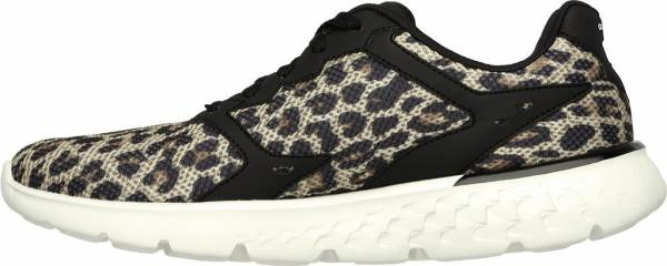 Skechers GOrun 400 woman black/natural leopard