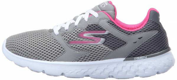 Skechers GOrun 400 woman charcoal/hot pink