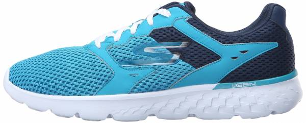 Skechers GOrun 400 woman teal/navy