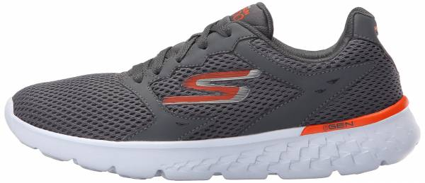 Skechers GOrun 400 men gris (ccor gris/orange)