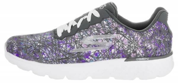 Skechers GOrun 400 woman gray purple