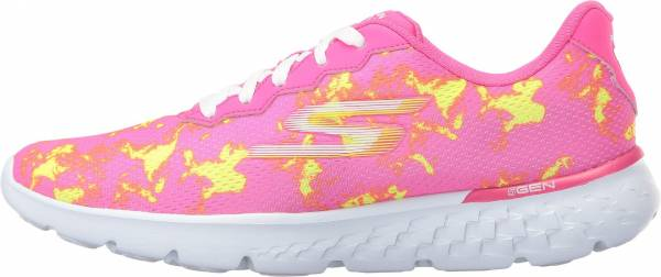 Skechers GOrun 400 woman hot pink/lime