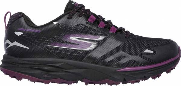 Skechers GOtrail woman black/purple