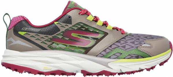Skechers GOtrail woman taupe/pink