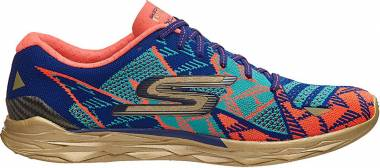 Skechers GOmeb Speed Elite - Blue/coral