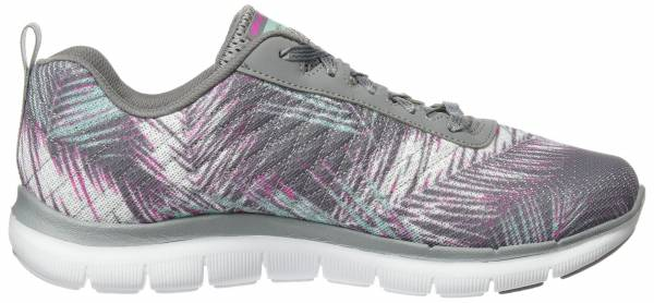 Skechers Flex Appeal 2.0 woman grigio (gymt)