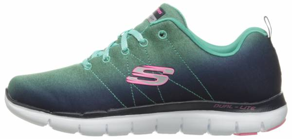 Skechers Flex Appeal 2.0 woman navy/aqua