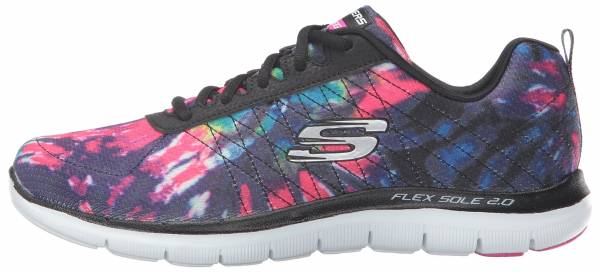 Skechers Flex Appeal 2.0 woman black/multi