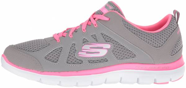 Skechers Flex Appeal 2.0 woman gray/hot pink