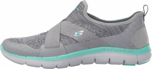 Skechers Flex Appeal 2.0 woman grey/turquoise