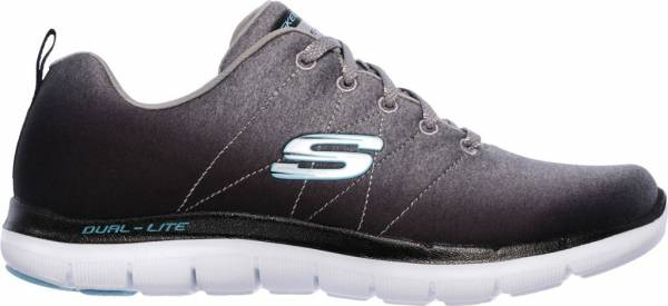 Skechers Flex Appeal 2.0 woman black/grey