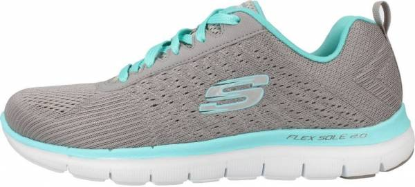 Skechers Flex Appeal 2.0 woman gry/lt blu