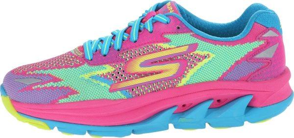 Skechers GOrun Ultra Road woman hot pink/turquoise