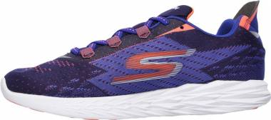 Skechers GOrun 5 - Bleu/Orange (BLOR)