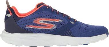 Skechers GOrun Ride 6 - Blue Blue Orange (BLOR)