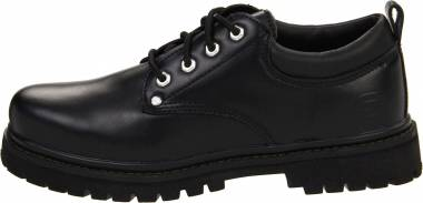 Skechers Alley Cats - Black Smooth (BOL)