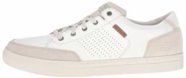 Skechers Relaxed Fit: Elvino - Lemen - White