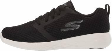 Skechers GOrun 600 - Black Black Textile White Trim Bkw
