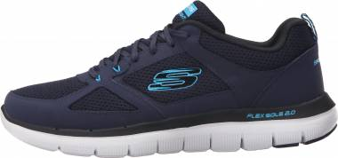 Skechers Flex Advantage 2.0 - Multicolor Nvbl Black Trubuck Mesh Trim (NVBL)