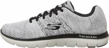 Skechers Flex Advantage 2.0 White/Black Men