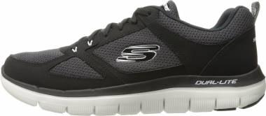 Skechers Flex Advantage 2.0 Black (Black/White) Men