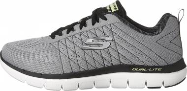 Skechers Flex Advantage 2.0 - The Happs - Light Gray/Black (155)