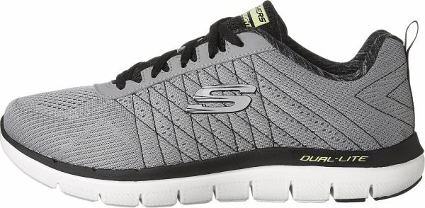 Skechers Flex Advantage 2.0 - The Happs - Gris Light Grey Black