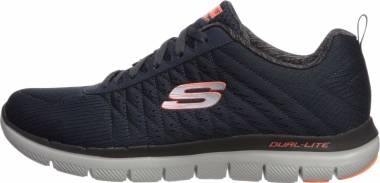 Skechers Flex Advantage 2.0 The Happs Mens Sneakers Black 8