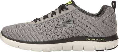 Skechers Flex Advantage 2.0 - The Happs Light Gray/Black Men