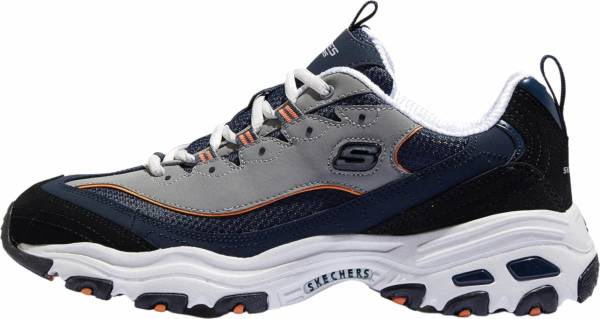 Skechers D'Lites Navy/Orange