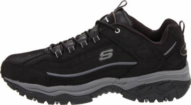 Skechers Energy - Black Scuff (BLK)