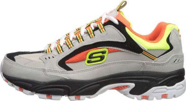 Skechers Stamina - Cutback - Gray/Orange (039)