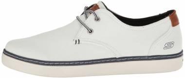 Skechers Relaxed Fit: Palen - Gadon - White Canvas