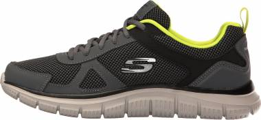 Skechers Track - Bucolo Charcoal/Lime Men
