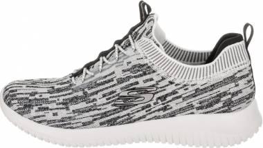 Skechers Ultra Flex - Bright Horizon - White/Black