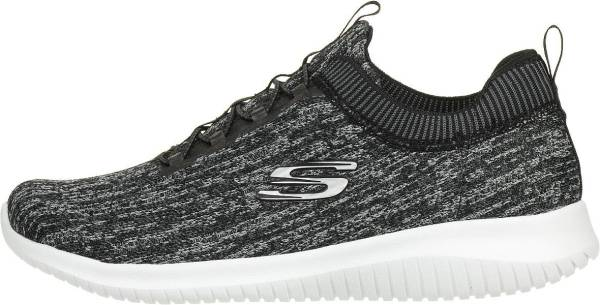 reputable site f5751 b8e30 Skechers Ultra Flex - Bright Horizon Black (Black Grey)