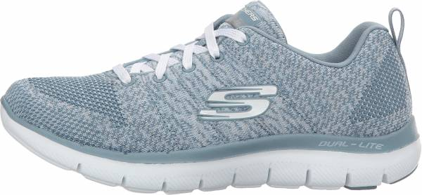Skechers Flex Appeal 2.0 - High Energy - Grey Slate (845)
