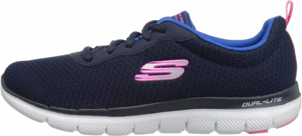 womens navy blue skechers