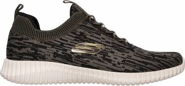 Skechers Elite Flex - Hartnell - Green Olive Black Olbk (505)