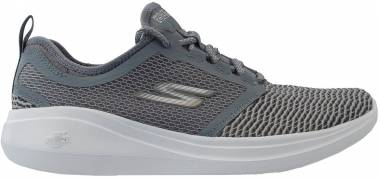 Skechers GOrun Fast - Charcoal/Orange