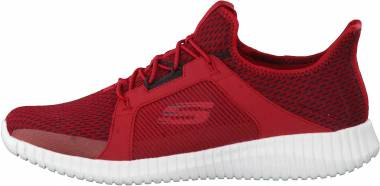Skechers Elite Flex - Rot (52640RDBK)