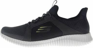 Skechers Elite Flex - Black Gray Bkgy (000)