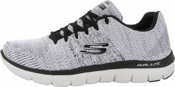 Skechers Flex Advantage 2.0 - Missing Link Black White